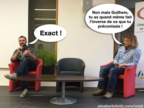 Guilhem vs Serge